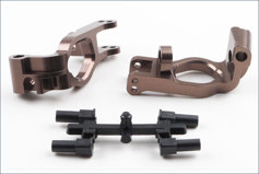 Aluminum Front Hub Carrier Set(L,R/Gunme