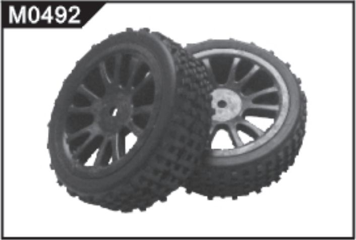 M0492 Front Tyre