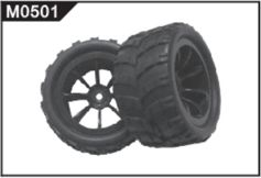M0501 Right Tyre