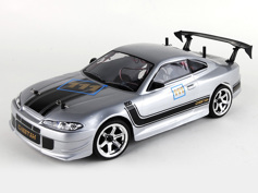 1:10 On-Road Drift car (Carbon) 4WD, Brushless, RTR, 2.4G, Light system