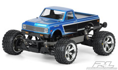 Кузов трак 1/8 - 1972 Chevy® C-10 Clear Body for Stampede®