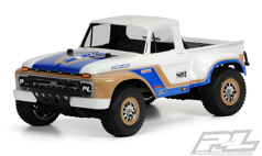 Кузов трак 1/8 - 1966 Ford F-150 Clear Body for Slash®, Slash® 4X4, and SC10 (requires extended body mount kit)