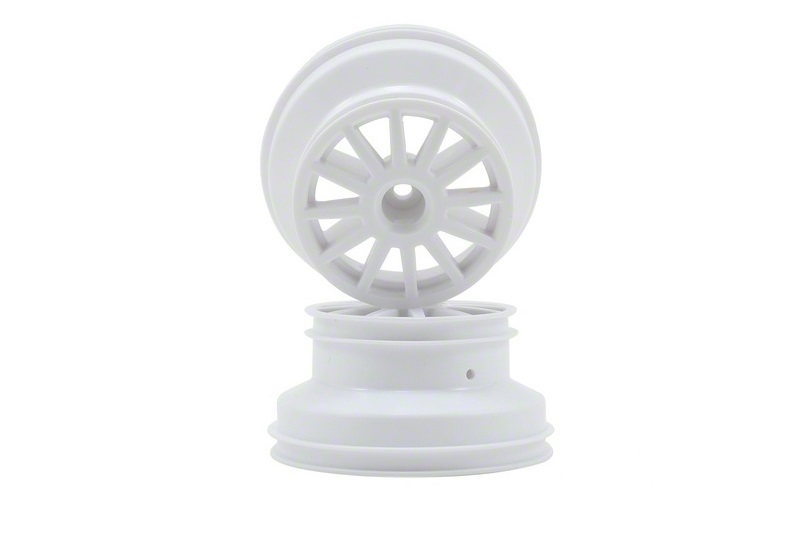 Traxxas Rally Wheel (White) (2)