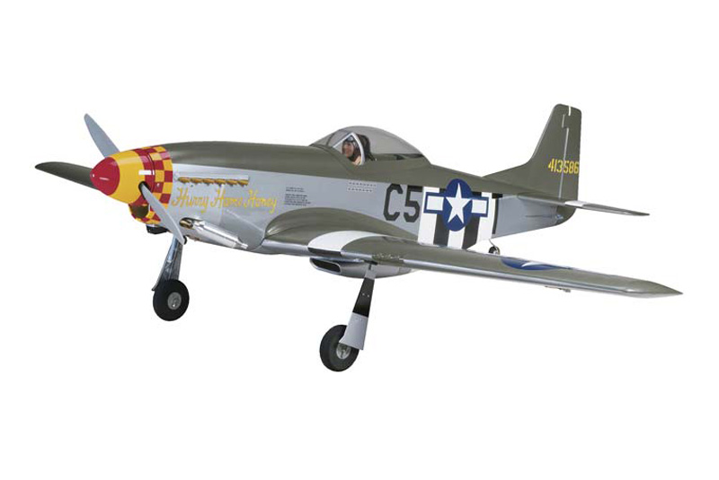 P-51D Mustang 60 ARF W/Retract