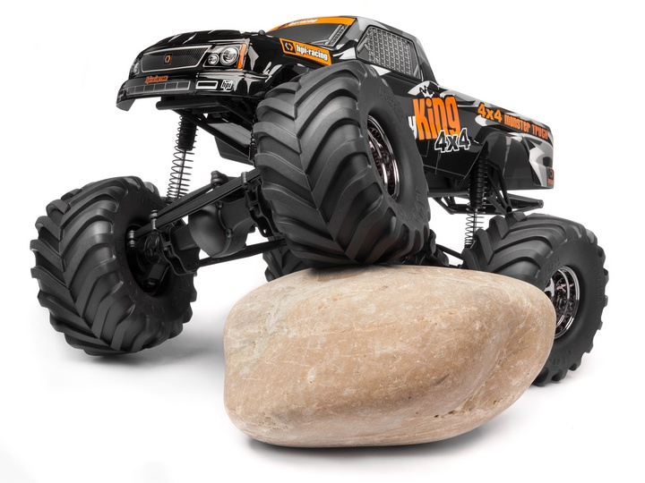 Монстр электро - RTR Wheely King 4X4 (NEW)